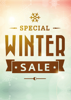 poster wintersale