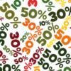 saleposter met korting percentages