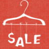 poster sale kleding