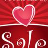 saleposter valentijnsdag