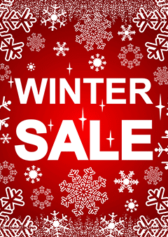 wintersale poster