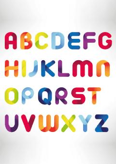 Alfabet poster A-Z