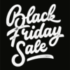 Sale poster met de tekst Black Friday
