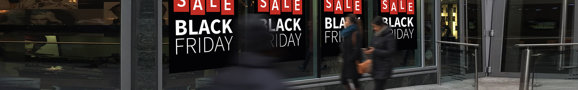 black friday sale posters