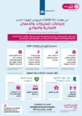 corornavirus poster maatregelen arabische ondernemingen