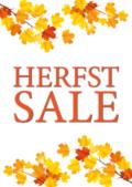Poster Herfst Sale