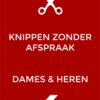 Poster Knippen zonder Afspraak