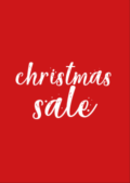 Christ Sale Poster