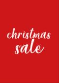 Christ Sale Poster