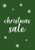 Christmas Sale Poster kopen