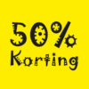 raamposter 50 procent zomer sale