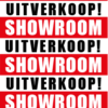showroom uitverkoop poster bestellen