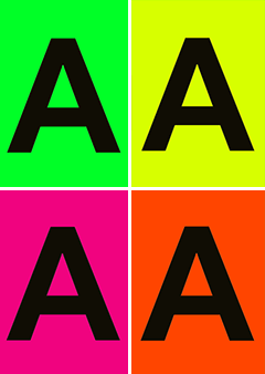 letter posters raamposter