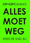 neon raamposter groen