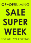 raambiljet sale super week neon geel