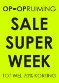raambiljet sale super week neon geel