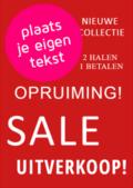 poster design voor raamwinkels