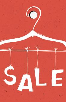 prijskaartje kleding