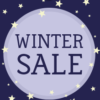Prijslabel Winter Sale