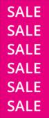 Sale banner winkelposters
