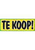 TE KOOP! banner