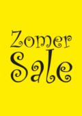 zomer sale-poster winkeliers