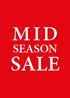 Mid Season Sale-poster voor winkeliers