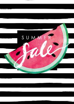 Summer Sale poster voor retailers