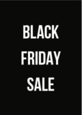 black friday 2019 sale-poster voor retailers