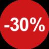 sale 30% sticker