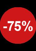 ronde sticker Sale 75%