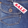 Sale poster jeans