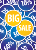 Big sale saleposter