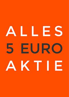 Alles 5 euro raamposter