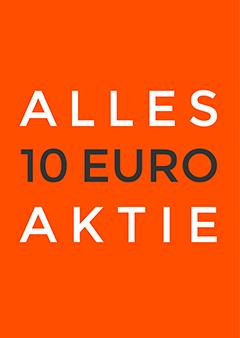 Alles 10 Euro aktieposter